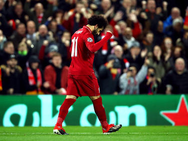 Mohamed Salah volvió a anotar para su equipo. (Foto: Getty)