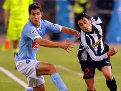 Garics (link) gegen Juves Palladino