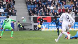 Reiss Nelson erzielte den 2:0-Siegtreffer für 1899 Hoffenheim