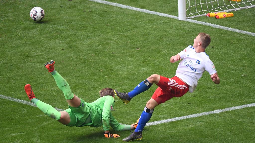 Fiete Arp traf zum 3:0-Endstand