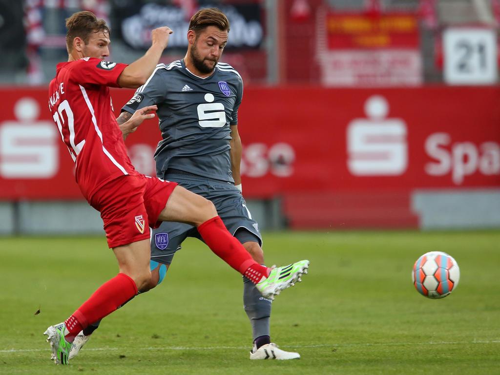 Simon Tüting (r.) verlässt den VfL Osnabrück