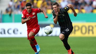 Bayer Leverkusen hatte mit Alemannia Aachen im DFB-Pokal so seine Mühe