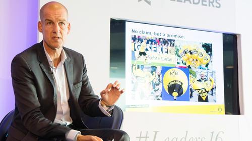 Carsten Cramer ist beim BVB für Vertrieb und Marketing zuständig