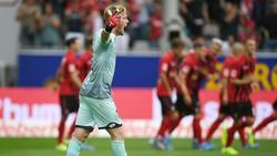 Frustriert: Keeper Florian Müller vom FSV Mainz 05