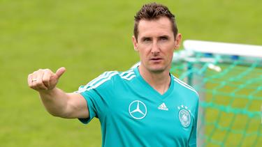 Miro Klose will auch als Trainer hoch hinaus