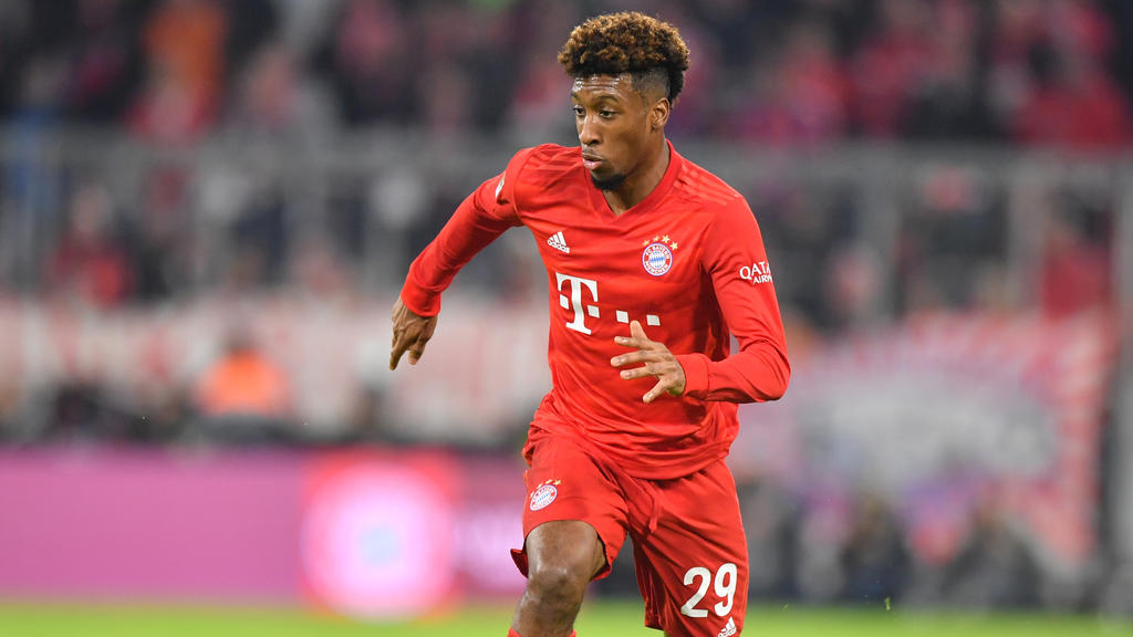 Kingsley Coman vom FC Bayern ist nach seiner Verletzung wieder voll einsatzbereit