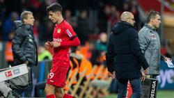 Wurde bei seiner Auswechselung gegen Hertha mit Pfiffen bedacht: Leverkusens Kai Havertz