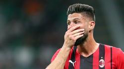 Olivier Giroud wechselte im Sommer zum AC Mailand