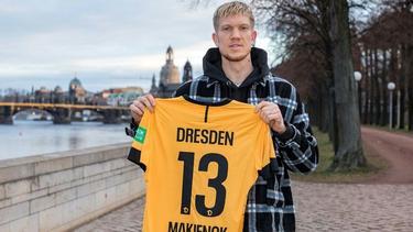 Simon Makienok unterschreibt bei Dynamo Dresden