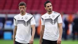 Spielen Thomas Müller und Mats Hummels etwa bei Olympia für Deutschland?