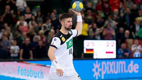 Fabian Wiede kann der deutschen Mannschaft bei der laufenden EM nicht mehr helfen
