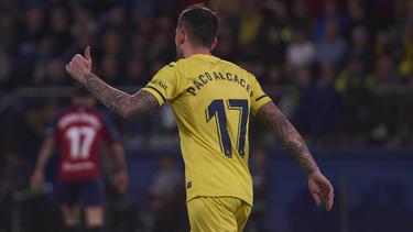 Paco Alcácer traf in seinem ersten Spiel für Villarreal