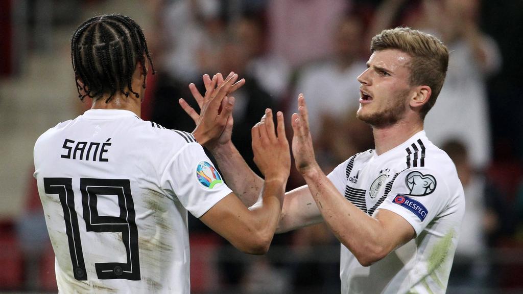 Kann es nur einen geben? Sané und Werner stehen auf dem Zettel des FC Bayern