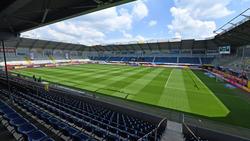 Die Benteler Arena in Paderborn