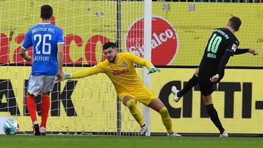 Branimir Hrgota (r.) erzielte das zwischenzeitliche 2:0 für Greuther Fürth