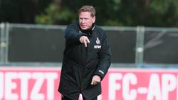 Markus Gisdol trifft mit dem 1. FC Köln auf Union Berlin