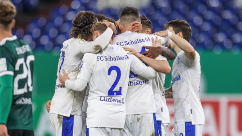 Der FC Schalke 04 steht zwar in der 2. Pokal-Runde, hat sich aber nicht mit Ruhm bekleckert