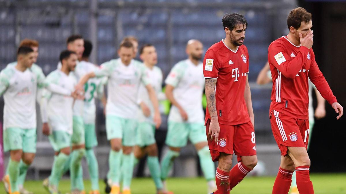FC Bayern patzt im Titelrennen gegen Werder Bremen