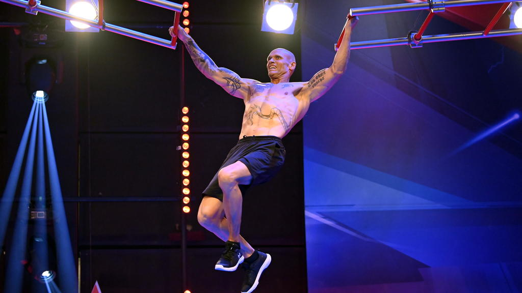 Thorsten Legat ist am Sonntag wieder im Ninja-Warrior-Parcours zu sehen