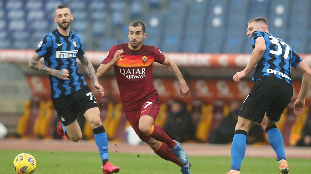 Inter Mailand und AS Rom trennten sich unentschieden