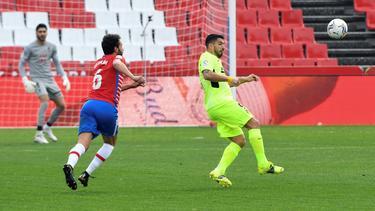 Atlético Madrid setzte sich gegen Granada CF durch
