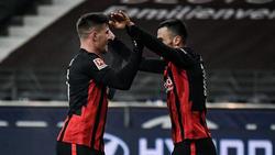 Bei Eintracht Frankfurt wiedervereint: Jovic und Kostic