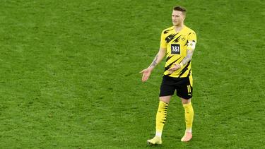 BVB-Kapitän Marco Reus holte einen Elfmeter heraus