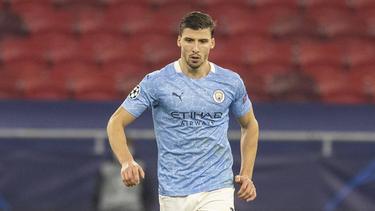 Ruben Dias con la camiseta del City.