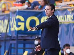 Emery quiere que el año acabe en fiesta en Villarreal.