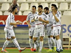 Albacete feiert Paredes den Ausgleich gegen Tenerife