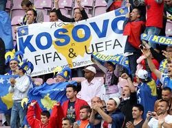 Fans setzten sich jahrelang für die Akzeptanz des Kosovo ein