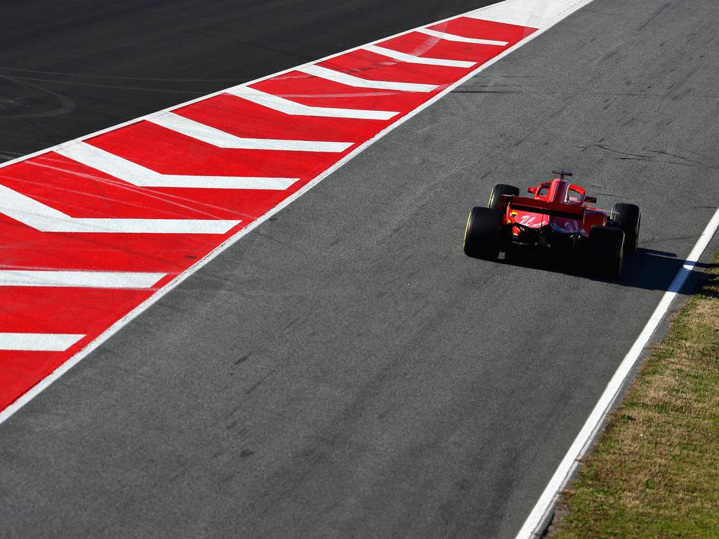 Kimi Räikkönen fährt Bestzeit am letzten Test-Tag der Formel 1
