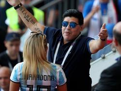 Maradona könnte sich vorstellen, erneut Argentinien zu trainieren