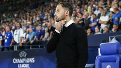 Nachdenklich: Schalke-Coach Domenico Tedesco