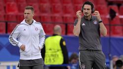 Joshua Kimmich und Mats Hummels sind zwei der wenigen Deutschen in der FIFPro-Liste