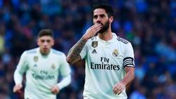 Isco war für Real Madrid im Pokal gleich zweimal erfolgreich