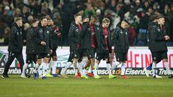 Die Spieler von Hannover 96 waren nach der Pleite sichtlich enttäuscht