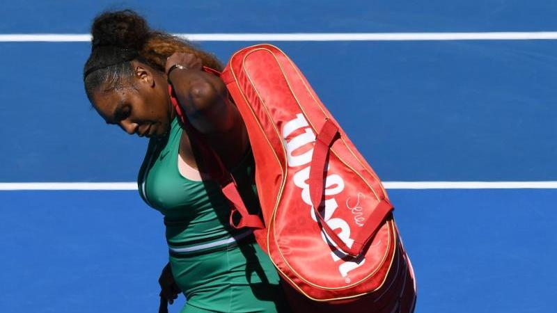 Serena Williams ist bei den Australian Open ausgeschieden