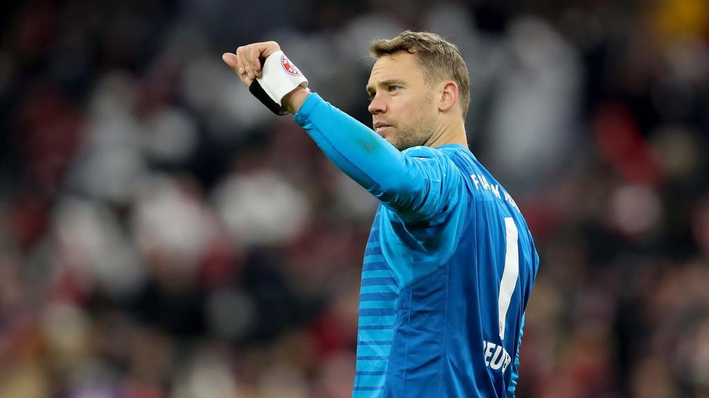 Manuel Neuer wird beim FC Bayern zeitnah sein Comeback feiern