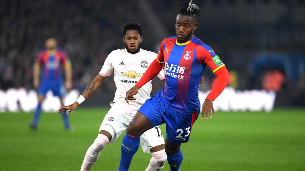 Michy Batshuayi kickt aktuell für Crystal Palace