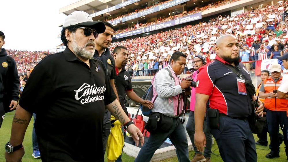Diego Maradona hat mit Dorados den Aufstieg verpasst