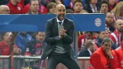 Pep Guardiola (l.) arbeitete bis 2016 als Trainer beim FC Bayern