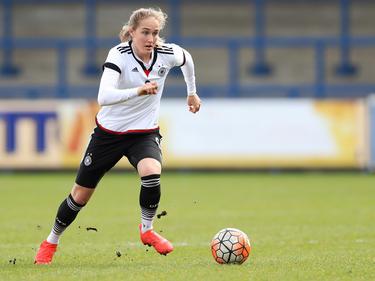 Die U17-Fußballerinnen (im Bild Sydney Lohmann) stehen im EM-Finale