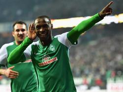 Anthony Ujah (r.) wird wohl kein Comeback im Werder-Dress feiern