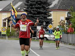Karl-Alfred Erber beim Wachau-Marathon 2018