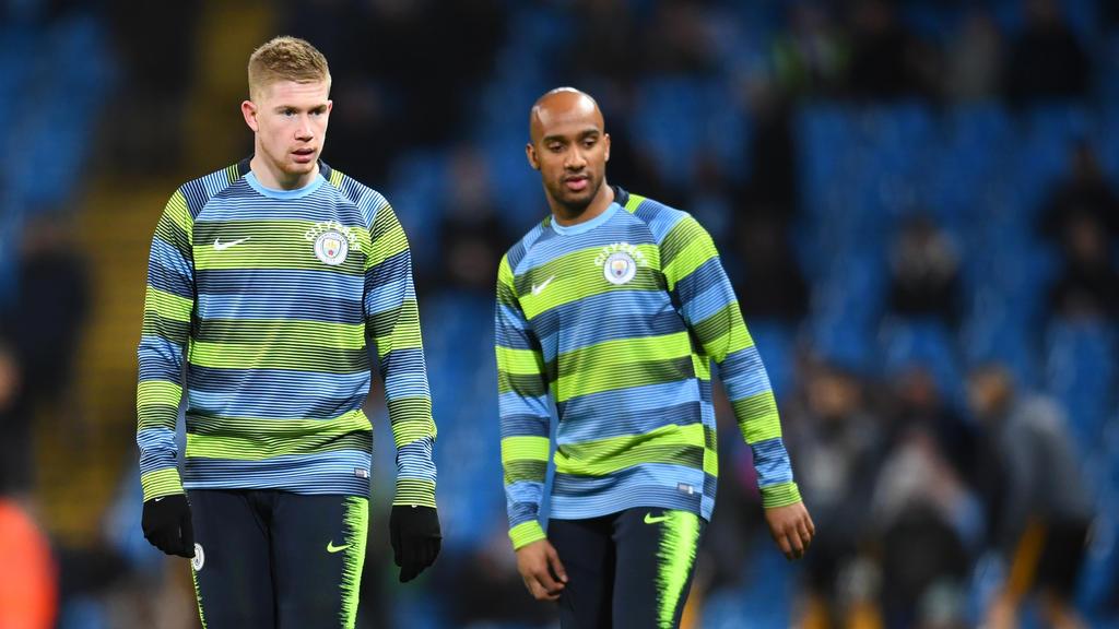 Fabian Delph (re.) wechselt von Manchester City zum FC Everton