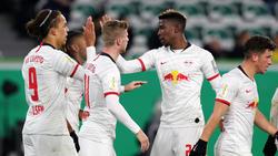 RB Leipzig feiert Kantersieg beim VfL Wolfsburg