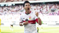 Wataru Endo überzeugte beim VfB Stuttgart
