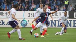 Fiete Arp (M.) erzielte Kiels zweiten Treffer