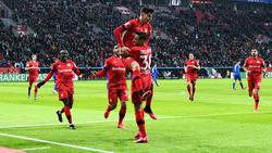 Bayer Leverkusen entschied das Rheinderby für sich